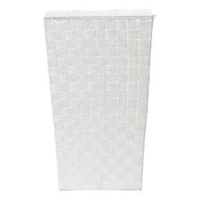 Living & Co Woven Hamper White