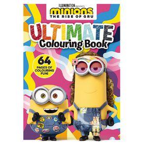 Minions #2 Ultimate Colouring Book