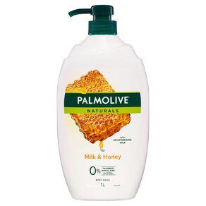 Palmolive Body Wash Milk and Honey 1L