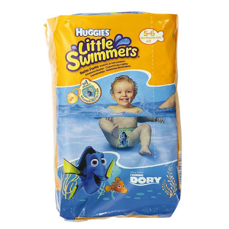 Huggies Swimmers 5-6 Branded Import Spec May Differ to Local Huggies, , hi-res