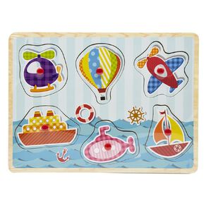 Play Studio Wooden Themed Puzzle Assorted
