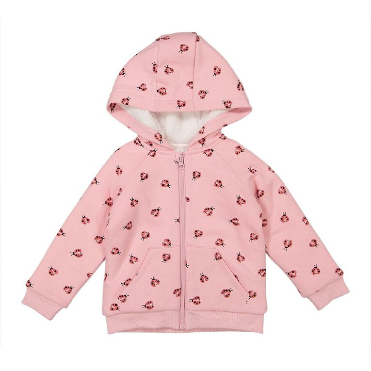 Young Original Toddler Sherpa Lined Sweatshirt, Pink Light, hi-res