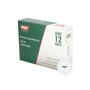 PGF Status Pro S Golf Balls 12 Pack