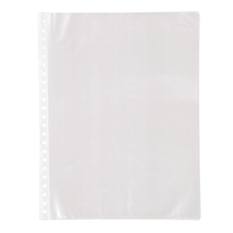 WS Clear Book Refills 10 Packs Clear A4, , hi-res