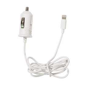 Tech.Inc Lightning Car Charger 1A White