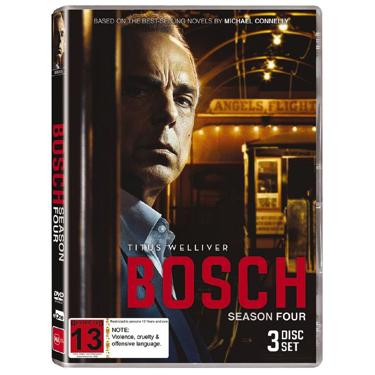Bosch S4 DVD 3Disc, , hi-res