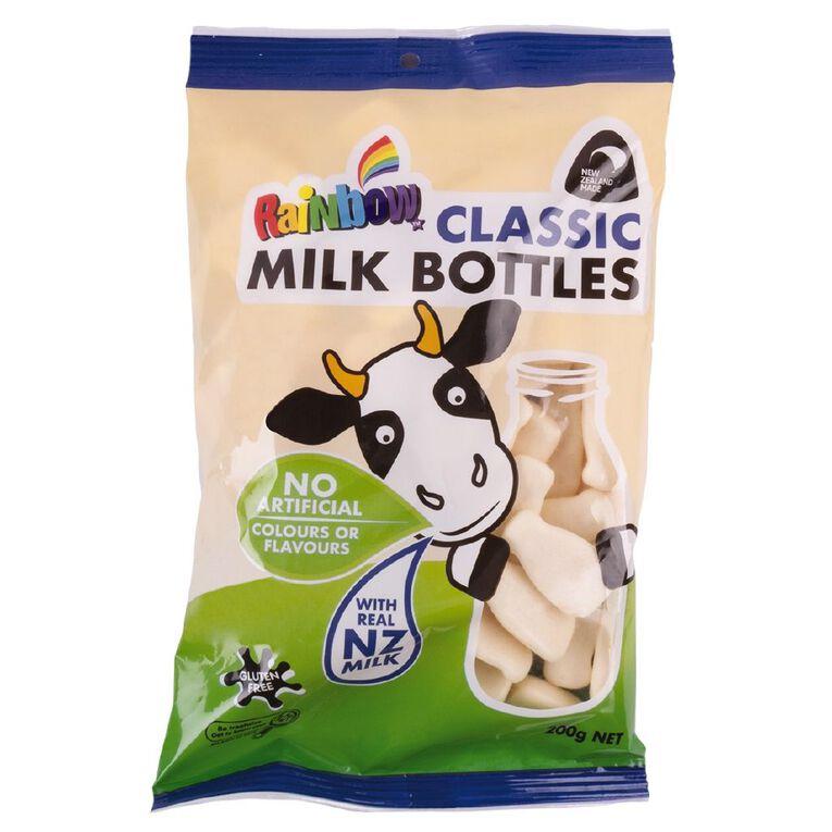 Rainbow Classic Milk Bottles 200g, , hi-res