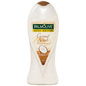 Palmolive Coconut Body Butter Scrub 400ml