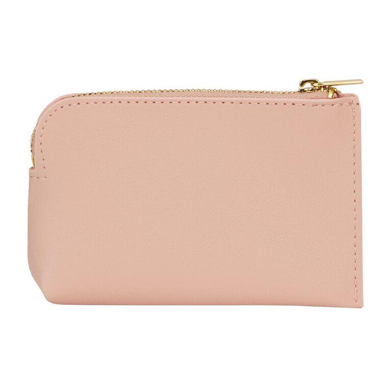 H&H Coin Zip Purse, Pink Light, hi-res