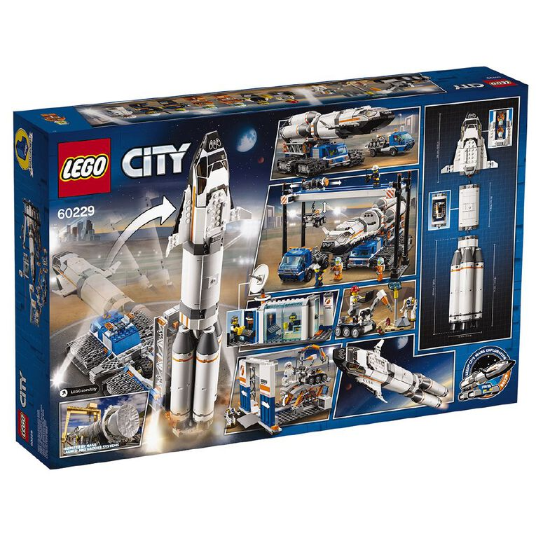 LEGO City Rocket Assembly and Transport 60229, , hi-res