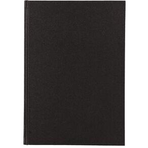 Uniti Visual Diary Hardback 110gsm 112 sheet Black A4