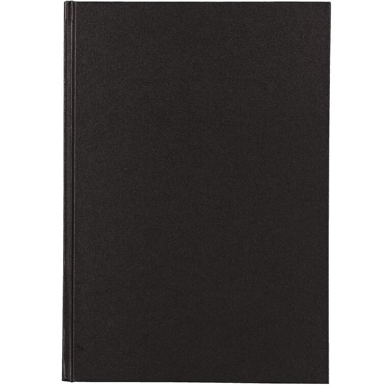 Uniti Visual Diary Hardback 110gsm 112 sheet Black A4, , hi-res