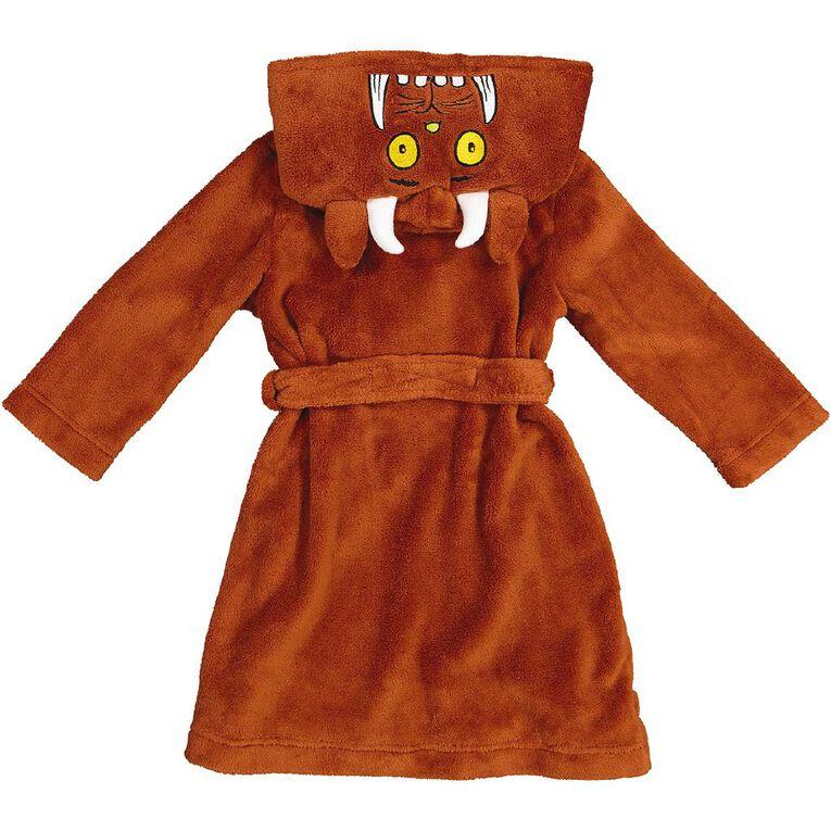 Gruffalo Kids' Robe, Brown, hi-res