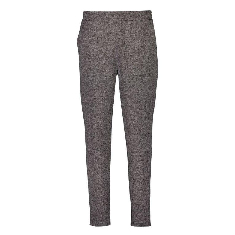 Active Intent Men's Slim Leg Joggers, Grey Dark MARL, hi-res