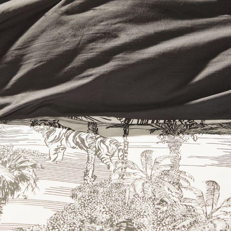Living & Co Whistler Bed Frame White Queen, , hi-res