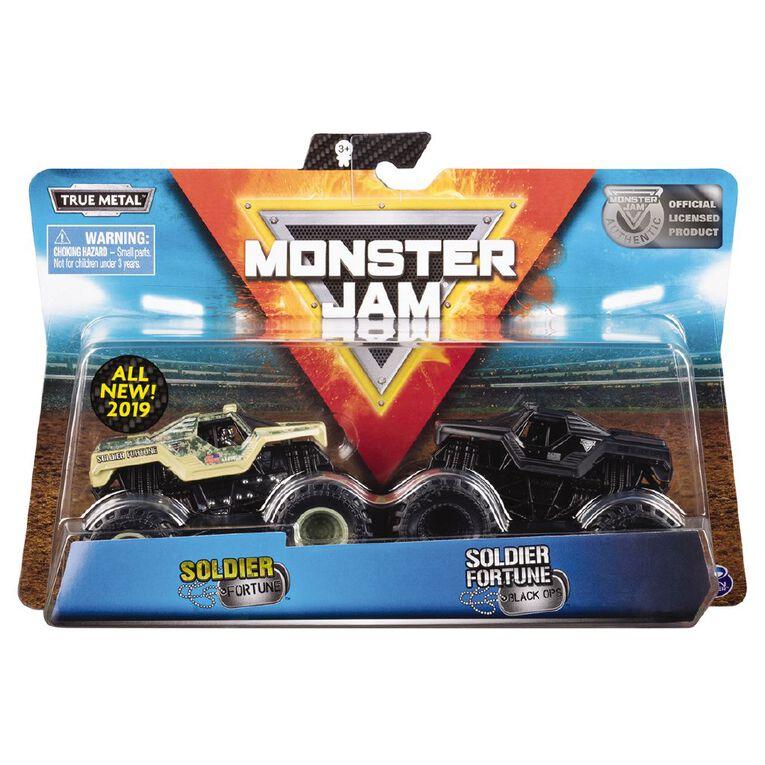 Monster Jam 1:64 Assorted 2 Pack, , hi-res
