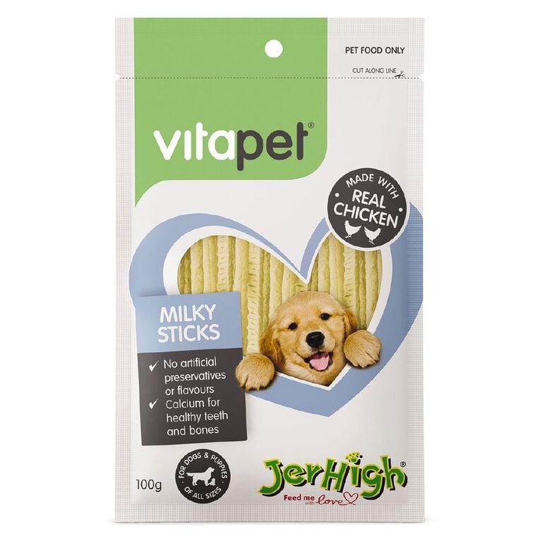 Vitapet Milky Sticks 100g, , hi-res