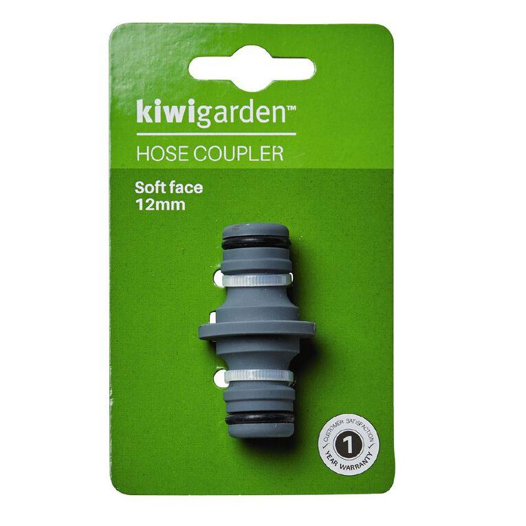 Kiwi Garden Hose Coupler Grey, , hi-res