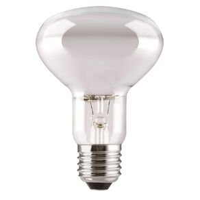 General Electric Incandescent E27 Reflector Lamp R80 ES Frosted 75w