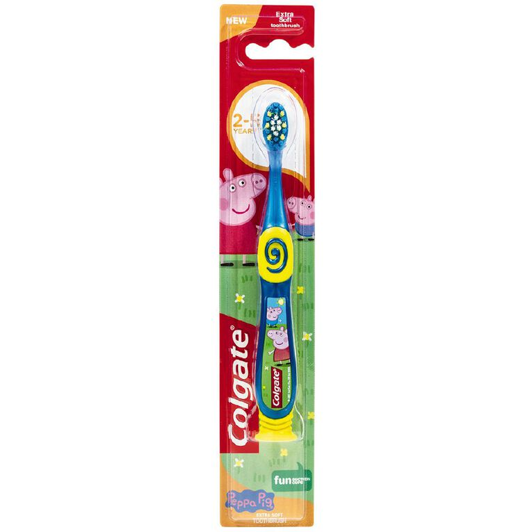 Colgate Peppa Pig Toothbrush 2-5 Years Assorted, , hi-res