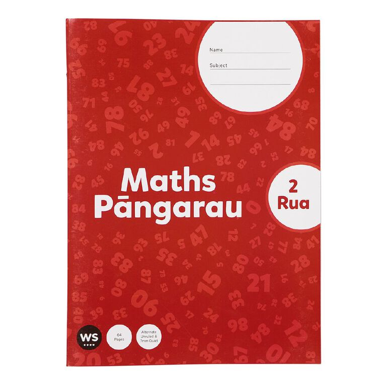 WS Senior Maths 2 Rua, , hi-res