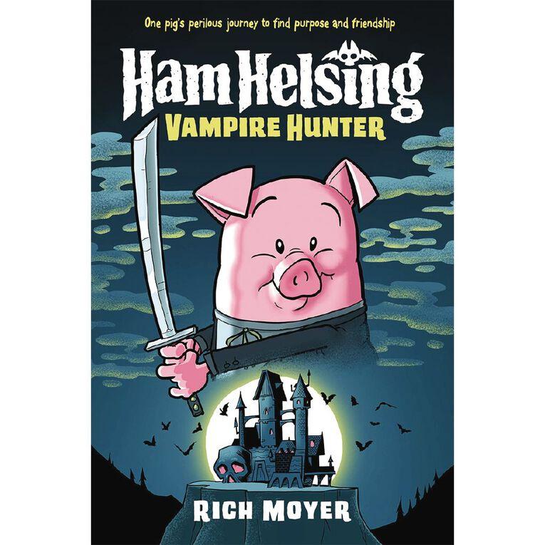 Ham Helsing #1 Vampire Hunter by Rich Moyer, , hi-res