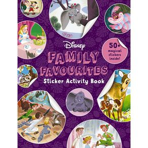 Disney Sticker Activity Book