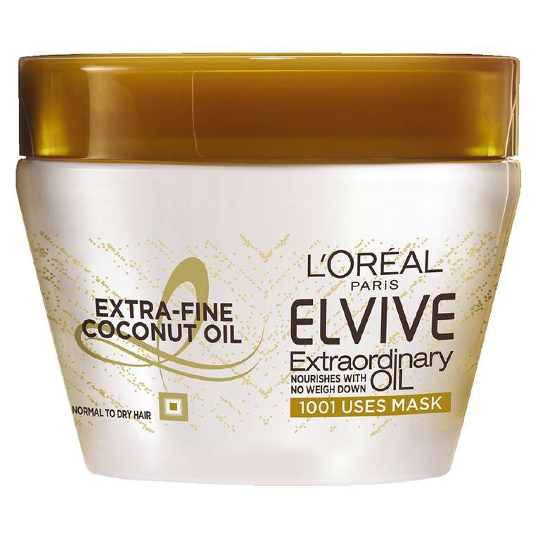 L'Oreal Paris Elvive Extraordinary Oil Coconut Mask 300ml, , hi-res