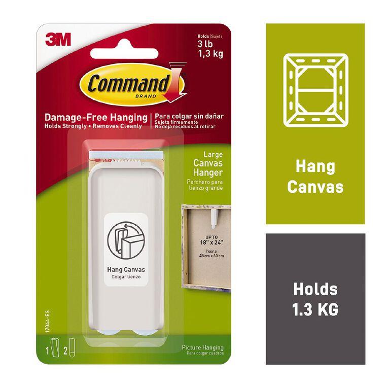 Command Canvas Hanger 17044-ES Large, , hi-res