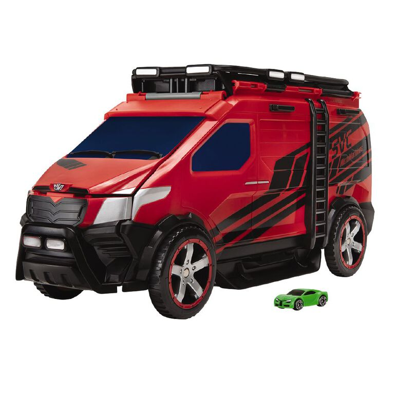 Micro Machines Super Van City Playset, , hi-res