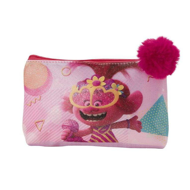 Trolls 2 Pompom Cosmetic Bag, , hi-res