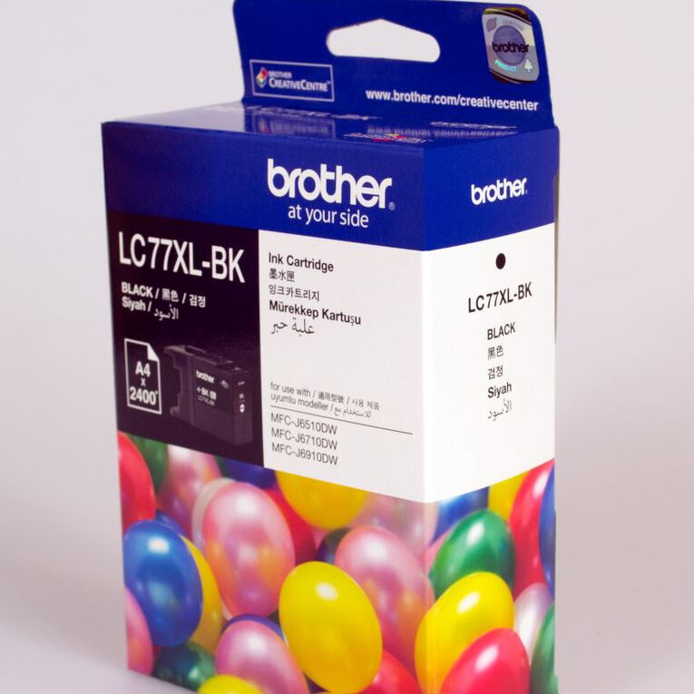 Brother Ink LC77XL Black (2400 Pages), , hi-res