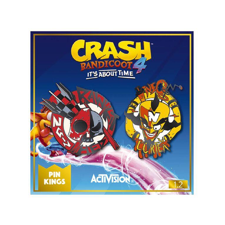 Numskull Crash Bandicoot Pin Kings 1.2, , hi-res