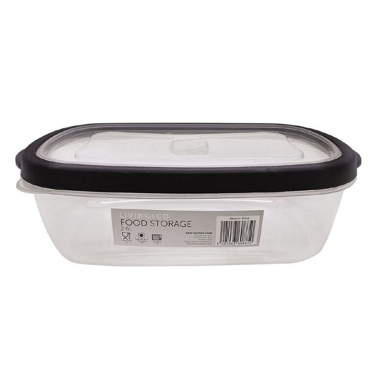 Living & Co Food Storage Container 2.6L, , hi-res
