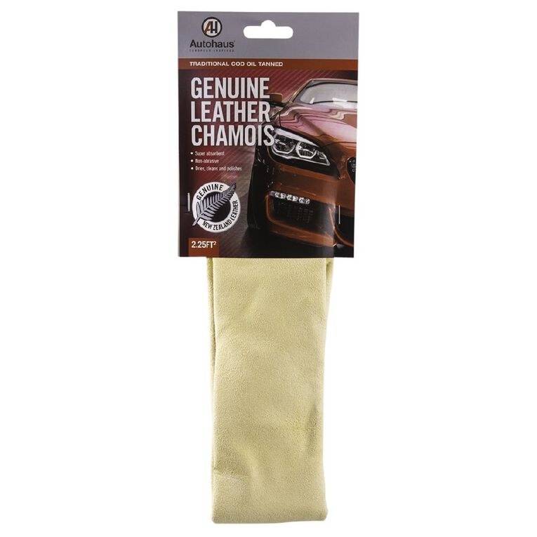 Autohaus Genuine New Zealand Leather Chamois Medium, , hi-res