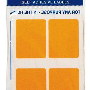 Quik Stik Labels Mr3545 28 Pack Fluoro Orange