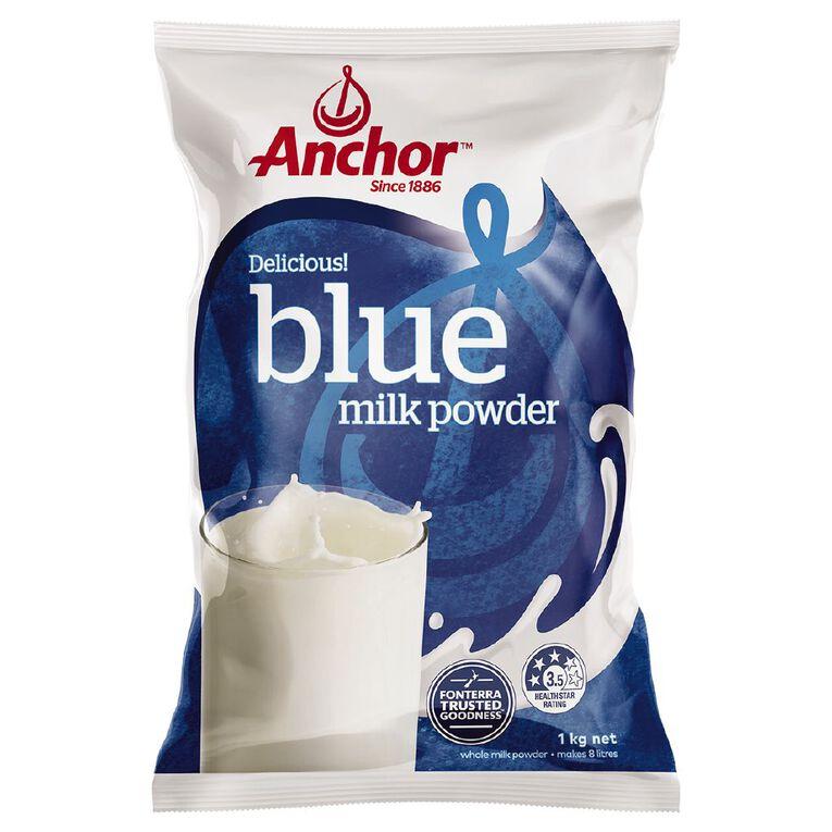 Anchor Blue Milk Powder 1kg, , hi-res