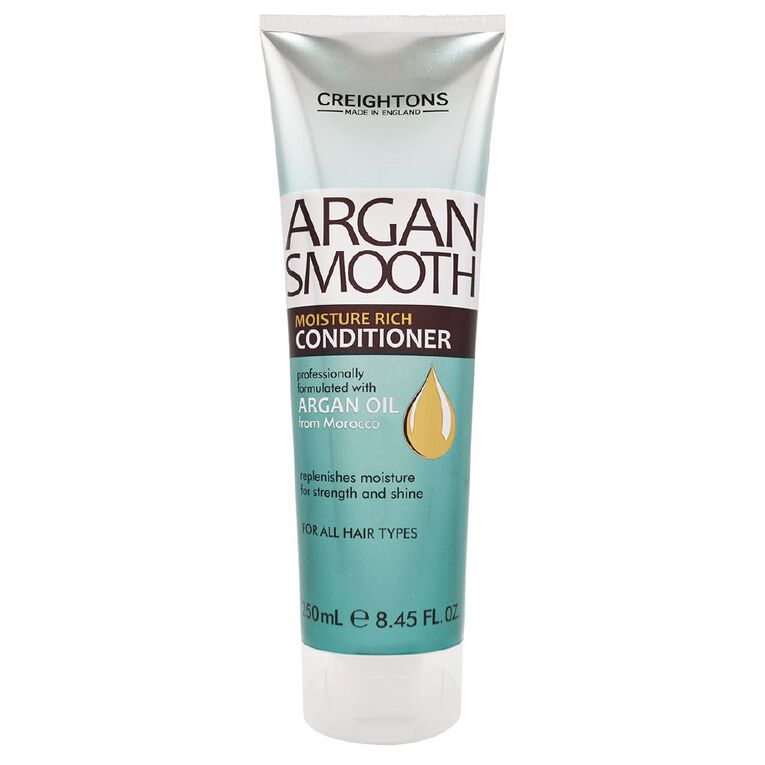 Creightons Argan Smooth Conditioner 250ml, , hi-res