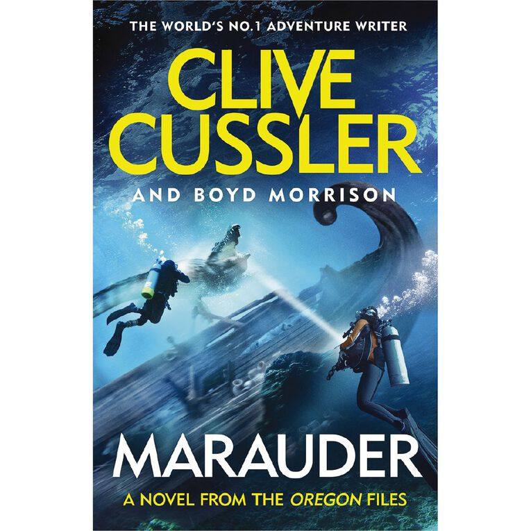 Marauder by Clive Cussler, , hi-res