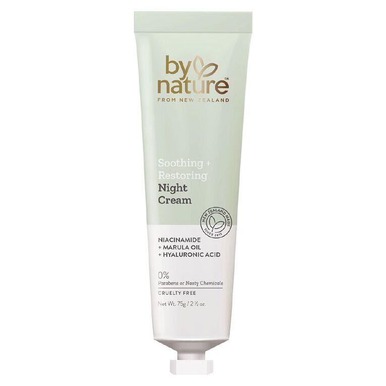 By Nature Replenishing Night Cream 75g, , hi-res
