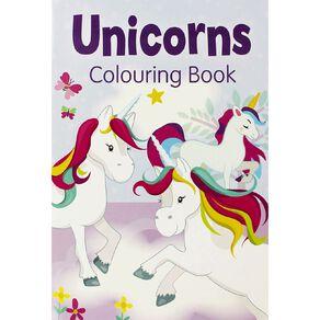 Unicorn Colouring Book 2 Purple