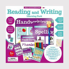 First Time Learning 5+ Reading and Writing Learning Pack