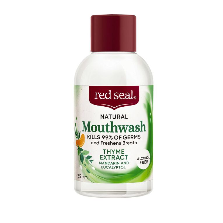 Red Seal Natural Mouthwash Thyme Extract 250ml, , hi-res