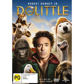 The Voyage Of Dr. Dolittle DVD 1Disc