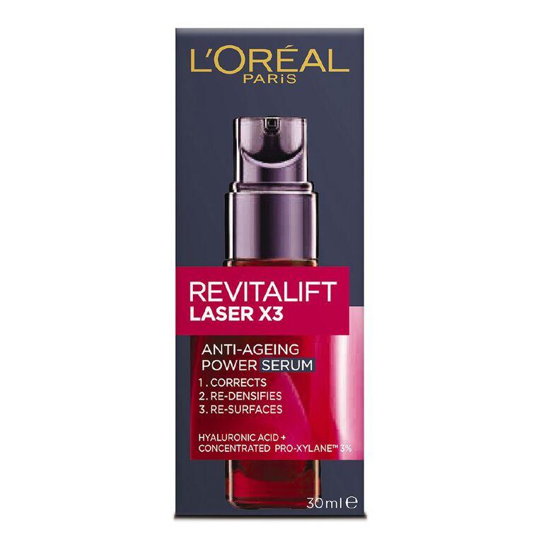 L'Oreal Paris Revitalift Laser x3 Serum 30ml, , hi-res
