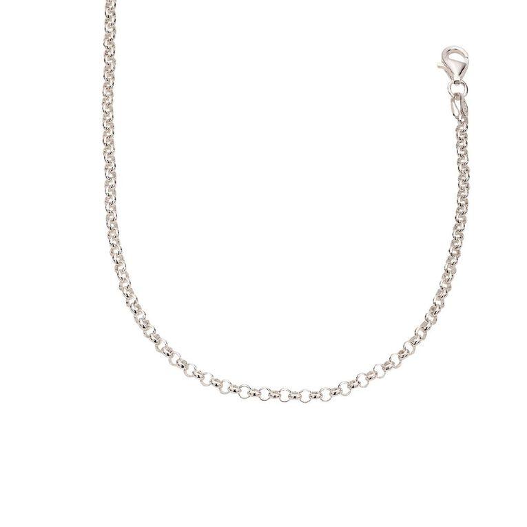 Sterling Silver Belcher Chain 70cm, , hi-res