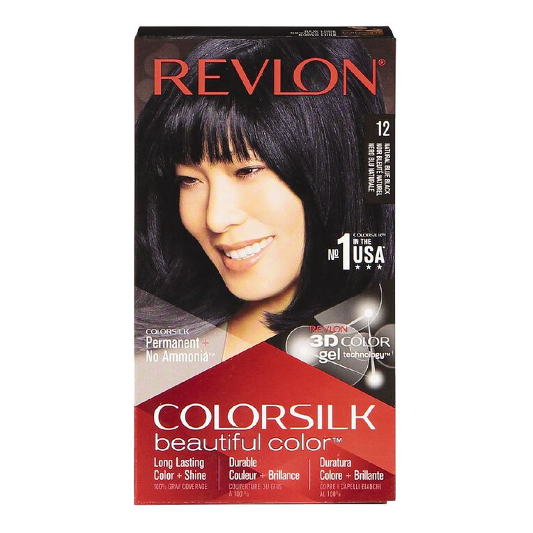 Revlon Colorsilk Natural Blue Black 12, , hi-res