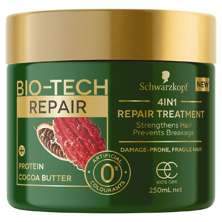 Schwarzkopf Extra Care Bio-Tech Repair 4-in-1 Treatment 250ml, , hi-res