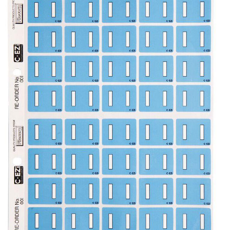 Filecorp Coloured Labels I Blue, , hi-res