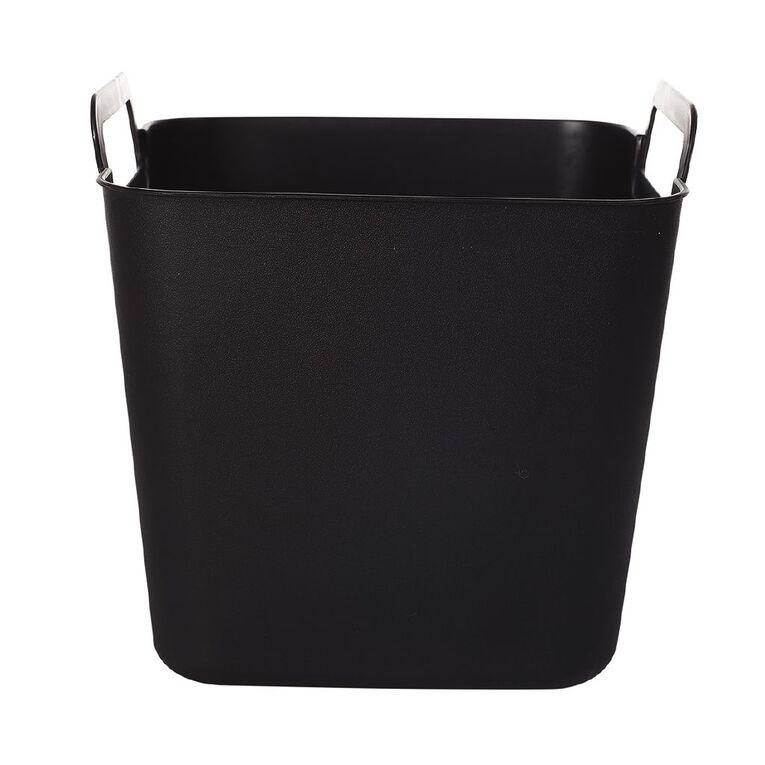Living & Co Flexi Tub Square Black 3L, , hi-res